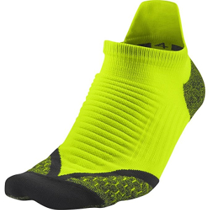 Nike Elite Cushioned Increased Visibility Running Socks