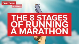 8 Stages of Marathon Running